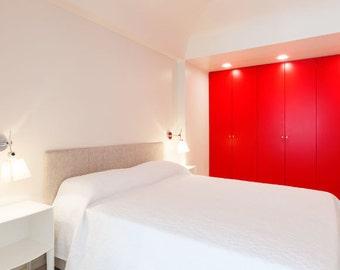 Vinyl Wall Covering Cupboards Wardrobes Units Kitchen Bedroom Sticker Draws Makeover Revamp Restore