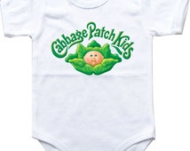 Baby bodysuit Cabbage Patch Kids 1 One Piece Bodysuit Funny Baby Child boy girlen's Clothing Kid's Shower boy girl Halloween costume