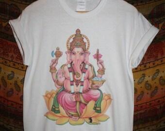 Ganesh T-Shirt 90s vtg hipster indie urban boho religious hindu ganesha kitsch
