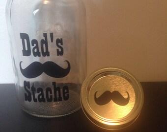 Dad's Stache Vinyl Decal