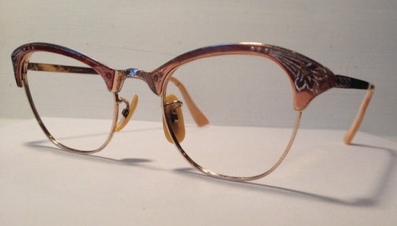 vintage eyewear made in usa by martin by eyerayvintagespecs