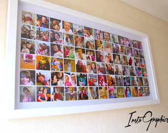 Personalised Baby / Kids Picture Frame - Gift Wall Art, Custom Picture Frame