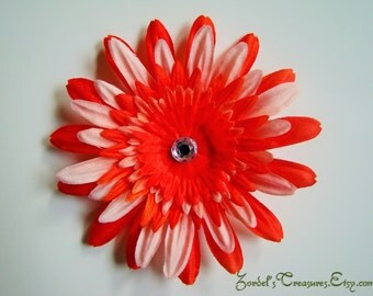 Flower Hair Clip - One Size - #163