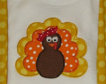 turkey tee, boy or girl, thanksgiving tee