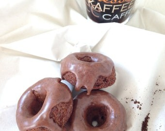 Coffee mini donuts