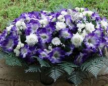Headstone Saddle, Spray, for Decoration, Memorial