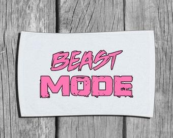 Workout Towel - Beast Mode - Workout Gear - Workout Accessory - Gym Towel