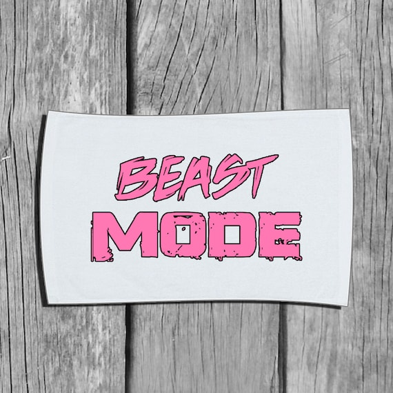 Body Workout With Towel: Workout Towel Beast Mode Workout Gear Workout Accessory