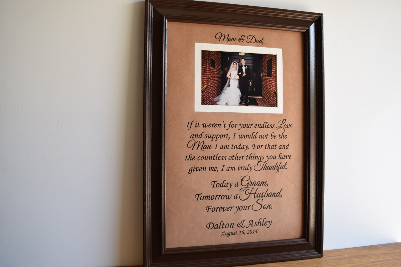 Mother Of The Groom Gift: Parents Of The Groom Gift Mother Of The Groom Gift Father Of