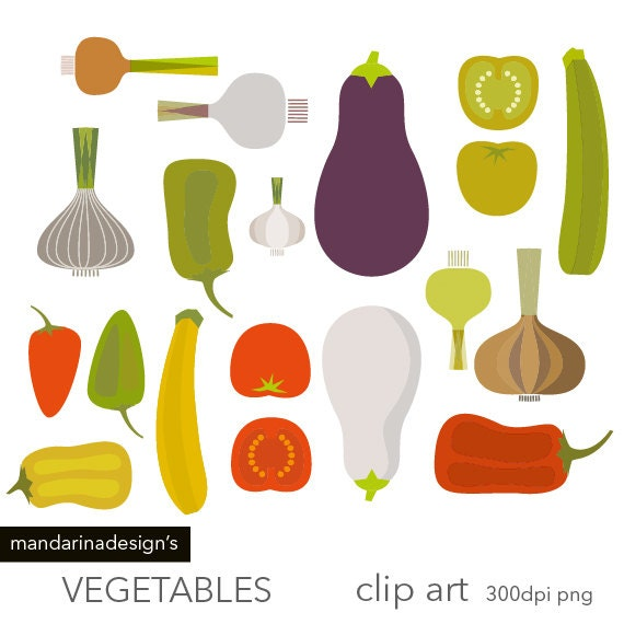 Vegetable graphics Etsy