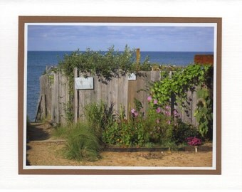 Cape Cod Bay, Massachusetts Photo Card