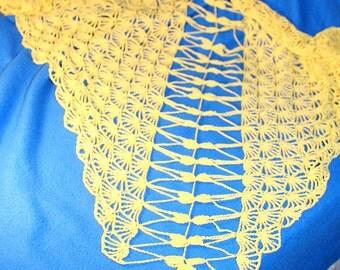 Dragonfly Crochted Shawl