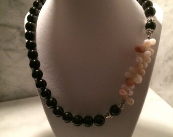 Opal & Onyx Necklace