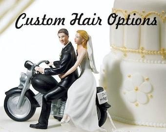 Bicycle Wedding Cake Topper D Printed