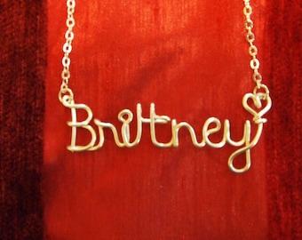 Brittney necklace