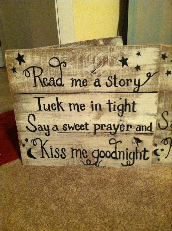 Hand Painted Pallet Sign