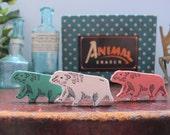 Vintage 1960s Polar Bear Eraser