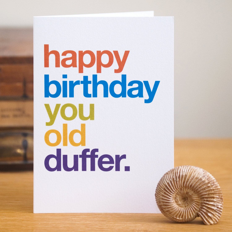 Funny Birthday Card Sarcastic Birthday Card Witty Birthday – Rude Birthday Cards Free