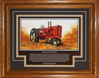 Massey Harris Model 44 1947 to 1955 with History