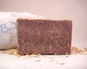 Exfoliating Oatmeal Soap - Natural Soap, Handmade Soap, Detox Soap, Vegan Soap, Oatmeal Soap