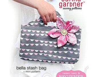 bella stash bag Mini Pattern, by Carina Gardner Sewing Patterns