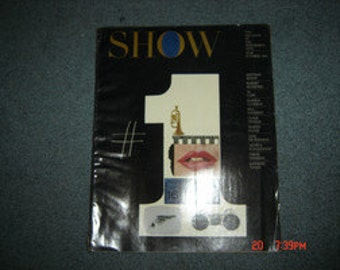 1961 OCTOBER SHOW MAGAZINE Of The Arts - Theatre Issue