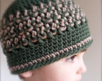 Crochet Beanie Hat (Child Size 2 to 4)