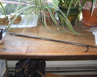 Handmade Wrought iron fire pokers