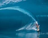 Laird Hamilton Millenium Wave Fine Art Surf Photography