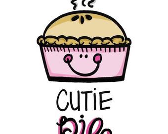Cutie Pie Greeting Card