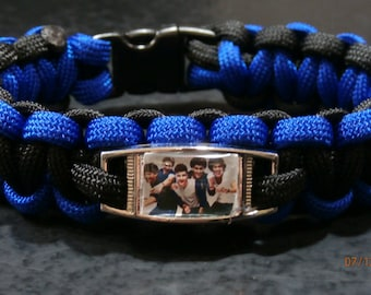 One Direction Paracord charm bracelet