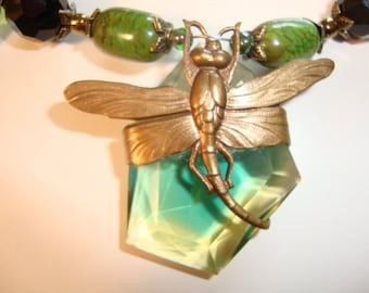 Dragonfly Whisper Necklace