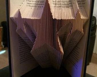 3 Stars Folded Book Art Pattern