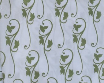 Green Ivy Fabric by the Yard