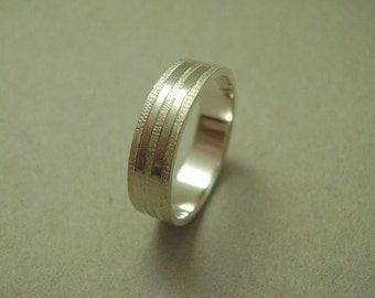 Wedding ring, Wedding band, White gold wedding Ring, White gold wedding band, Woman wedding ring, White Gold ring, Simple wedding ring