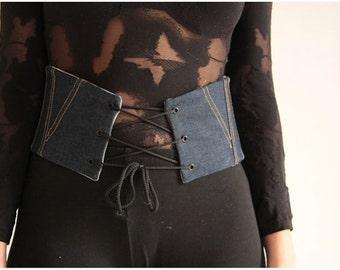belt boned corset oprahjean
