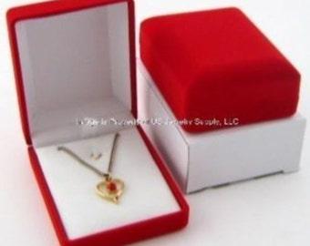 1 elegant black crocodile pattern mens cufflinks display gift for Red velvet jewelry gift boxes