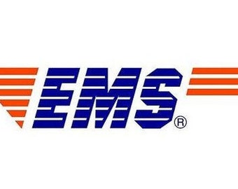 Expedited express service - EMS - one to two weeks for delivery