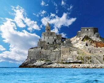 Italy - Liguria - The ancient church of San Lorenzo in Portovenere - SKU 0116