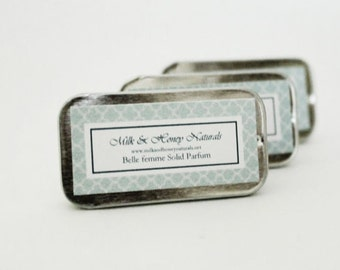 PERFUME - Belle Femme natural Solid Parfum