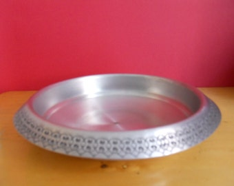 Vintage pewter tray/ Handmade pewter tray from Norway/Pewter Norway/Handmade in Norway