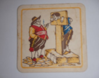 Vintage, Troost, Holland's most comfortable Tobacco drink coaster.