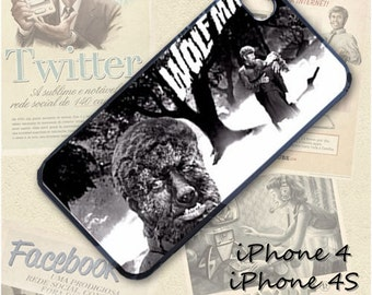 Wolfman cell phone Case / Cover for iPhone 4, 5, Samsung S3, HTC One X, Blackberry 9900, iPod touch 4 / 699