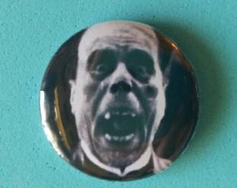 "Phantom of the Opera- Lon Chaney, Sr   1"" Button"