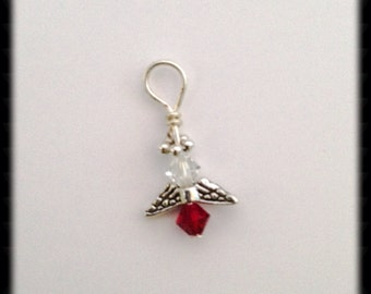 ADD ON swarovski angel charm