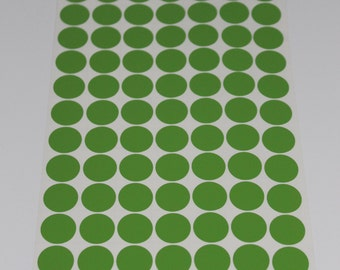 Vinyl Polka Dots - 3/4 inch Vinyl Polka Dots, Pick Your Color for Crafts and Wall Decorating - 98 dots