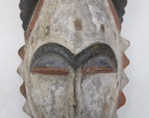African Art  Tribal Art Ibo Mask From Nigeria