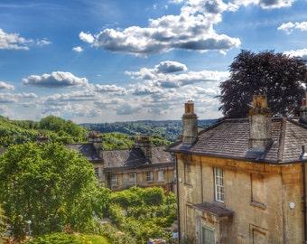 England Photography, Bath England Photo, England Landscape, English Countryside, English Decor, England Print