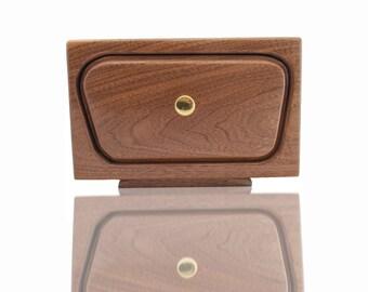 Organizer Drawer - Bandsaw Box  Solid Walnut