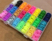 Rubber loom Band Refills 2,400 & 100 Clips